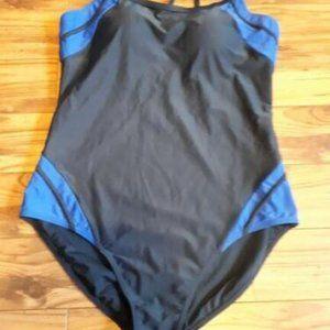George Swimsuit Swimwear One-Piece  Women size 16
